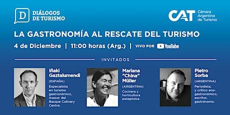 DIÁLOGOS DE TURISMO | Edición en VIVO | Capítulo 5 | 4 Dic. | 11.00 h entradas