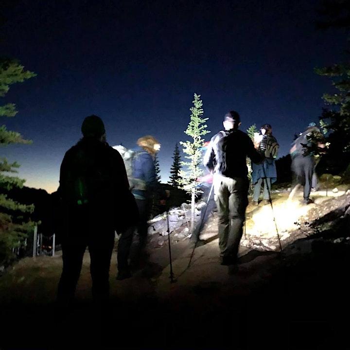 Sunrise  Intermediate guided hike- Yamnuska image