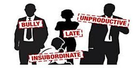 Dealing With Unacceptable Employee Behavior tickets
