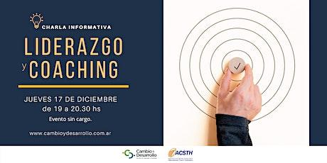 Charla Informativa: Programa de Liderazgo y Coaching  17 de Diciembre19 hs entradas