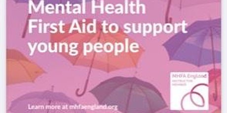 Youth Mental Health First Aid Course (MHFA) 2 Days tickets