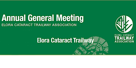 Elora Cataract Trailway Association Annual General Meeting (AGM) tickets