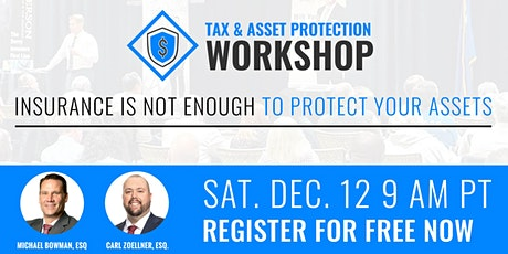 Tax and Asset Protection 12.12.2020 tickets