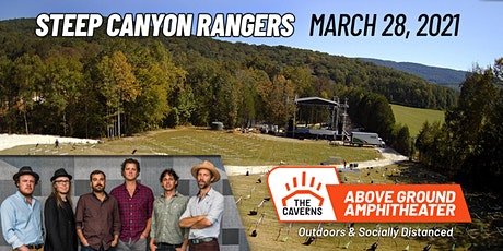 Steep Canyon Rangers at The Caverns Above Ground Amphitheater tickets
