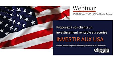 Webinar Prescripteurs - Pourquoi investir dans l'immobilier à Cleveland? billets