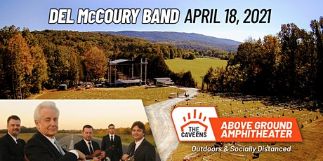 Del McCoury Band at The Caverns Above Ground Amphitheater tickets