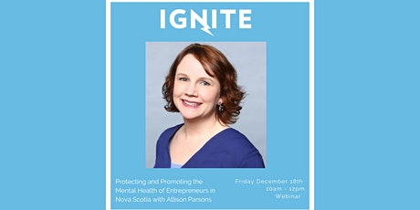 Protecting and Promoting the Mental Health of Entrepreneurs in Nova Scotia tickets