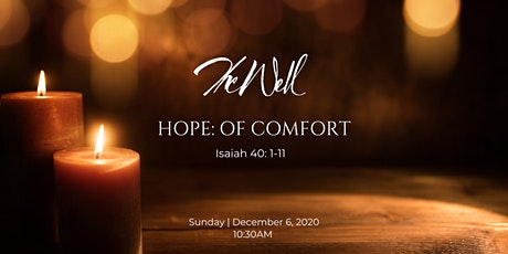 Sunday Worship at The Well 12/6/2020 (in-person) tickets