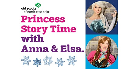 Snow Princess Story Time with Elsa & Anna! tickets