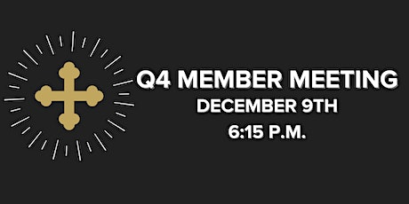 Child Care for Q4 Member Meeting tickets
