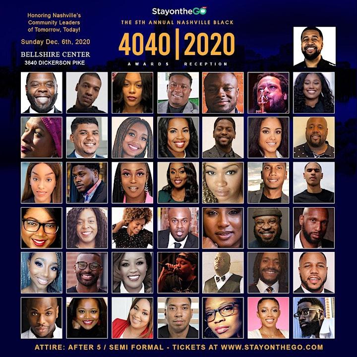 Nashville Black 40 under 40 Awards 2020 image