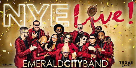 NYE Live! New Year's Eve Arlington with Emerald City Band tickets