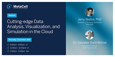 Cutting-edge Data Analysis, Visualization, and Simulation in the Cloud tickets