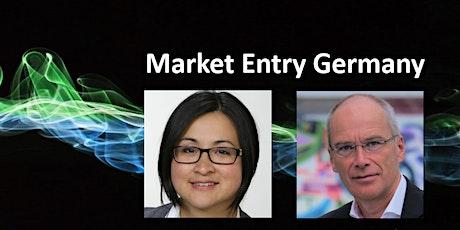Webinar Market Entry in Germany tickets