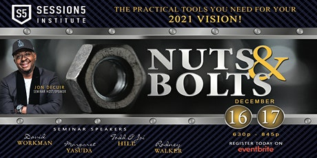 VISION - The NUTS & BOLTS tickets