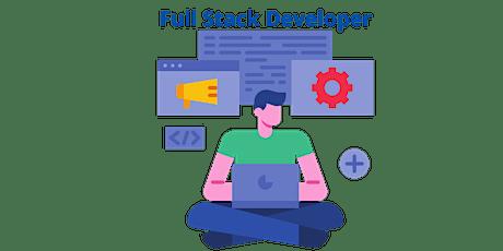 4 Weekends Full Stack Developer-1 Training Course in Saint John tickets