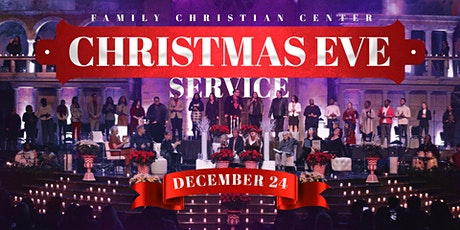 FCC CHRISTMAS EVE SERVICE 2020, 6:00 P.M. tickets