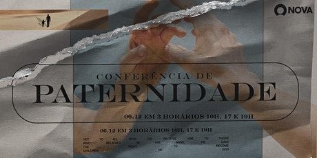 CONFERÊNCIA DE PATERNIDADE bilhetes