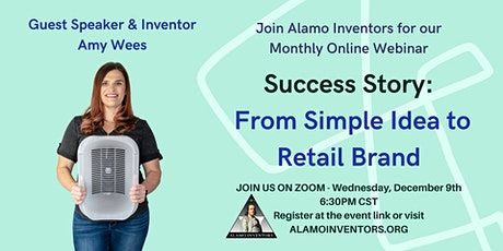 Inventor Success Story: From a Simple Idea to a Retail Brand tickets