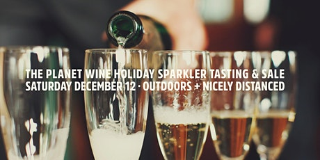 Planet Wine Outdoor Holiday Sparkler Tasting 2020 tickets
