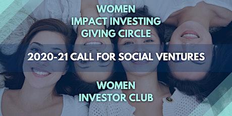 Last Call: 2020-21 CO Women Call for Social Ventures Info Webinar tickets