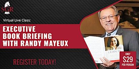 Executive Book Briefing with Randy Mayeux - Upstream by Dan Heath entradas
