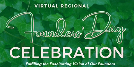 2021 Virtual Founders' Day Celebration: Inactive Member Registration Portal tickets