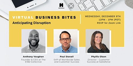 Virtual Business Bites | Anticipating Disruption tickets