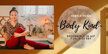 Body Kind: Gentle Yoga tickets