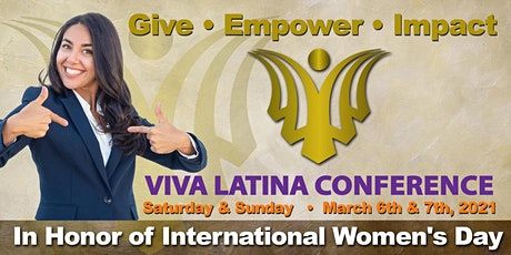 VIVA Latina Conference  - In Honor Of International Women's Day tickets