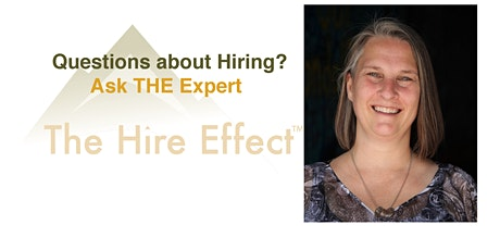 Ask (The Hire Effect™) THE Expert tickets