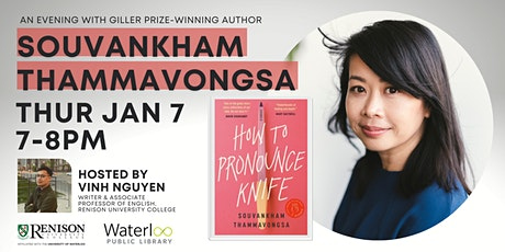 An Evening with Giller Prize winning author, Souvankham Thammavongsa tickets