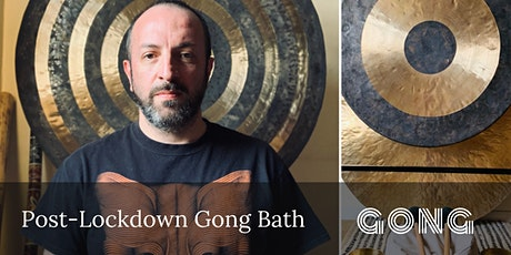 Post-Lockdown Gong Bath tickets