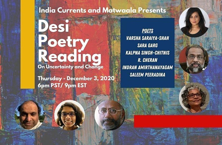 Desi Poetry Reading: Uncertainty and Change image