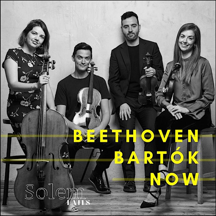 Beethoven Bartók Now: Writing For Quartet workshop image