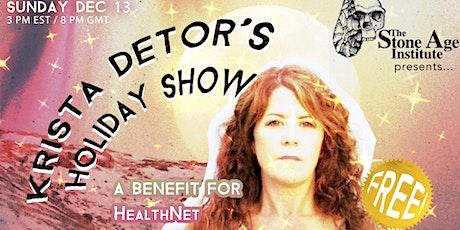 Krista Detor's Annual Holiday Show - Int'l LIVESTREAM! tickets