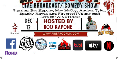 The Roast Of Moe McCoy Part 3 Live Broadcast/ Comedy Show tickets