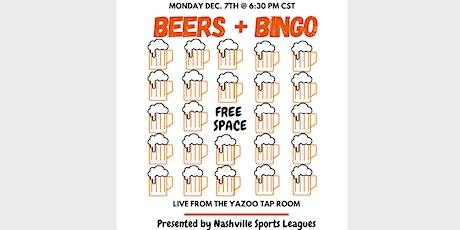 Beer Bingo tickets