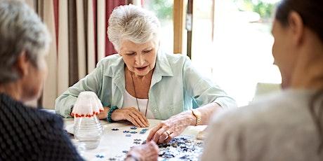 Designing Meaningful Dementia Activities Part 1 tickets