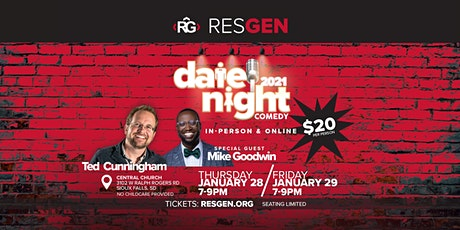 Date Night Comedy 2021 LIVESTREAM (1 ticket needed per viewing audience) tickets