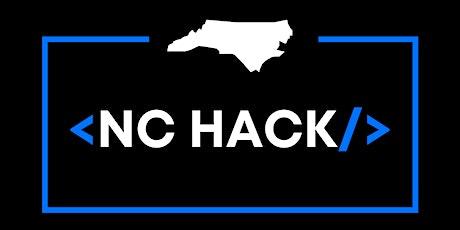 NC Hack tickets