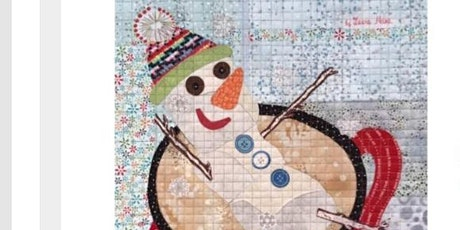 Tiny Snowman Collage Class by Laura Heine tickets