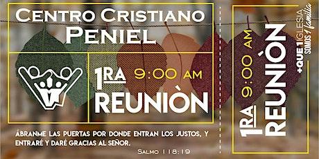 1ra Reunión Peniel. boletos