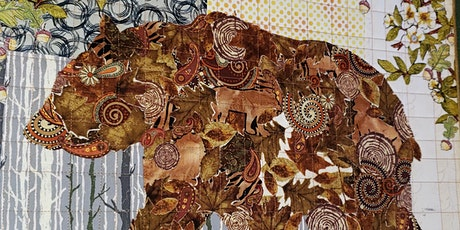 Tiny Bear Collage Quilt by Laura Heine tickets