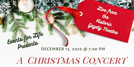 A Christmas Concert with Craig Ashton & Friends tickets