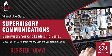 Supervisory Servant Leadership Series 2021 (I) - Part 4 tickets