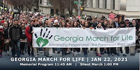 2021 Georgia March For Life & Memorial Service, Liberty Plaza, Atlanta boletos