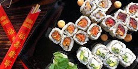 Fundamentals of making sushi rolls tickets