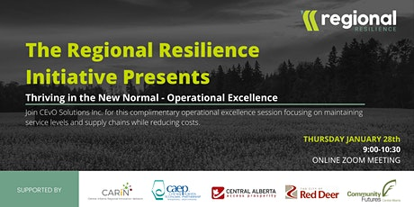 Thriving in the New Normal - Operational Excellence tickets