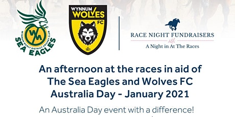 2021 Wynnum Wolves FC and  Sea Eagles Cricket Club| Race Day Fundraiser tickets